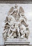 Arch of Triumph – La Resistence Stock Image