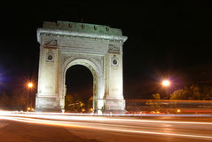Arch Of Triumph. Arc De Triomphe Royalty Free Stock Image