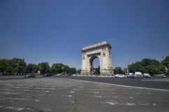 Arch of Triumph. The Arch of Triumph, Bucharest, Romania Royalty Free Stock Images