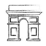 arch triumph Διανυσματική απεικόνιση