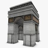 Arch Of Triumph Stock Image