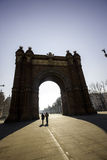 Arch of Triumph in Barcelona, ​​Spain Stock Photography
