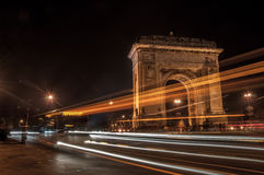 Arch of Triumph, Bucharest Stock Photography
