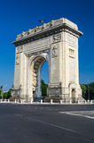 Arch of Triumph, Bucharest, Romania Royalty Free Stock Photos