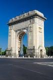 Arch of Triumph, Bucharest, Romania Royalty Free Stock Photos