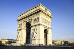 Arch of Triumph. Day time. Paric, France Stock Image