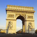 Arch of Triumph. Day time. Paris, France Stock Images