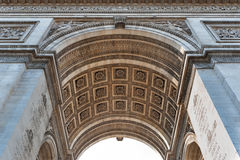 Arch of Triumph detail. Royalty Free Stock Photos