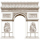 Arch of Triumph Royalty Free Stock Image