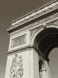 Arch of Triumph. In Paris Royalty Free Stock Images