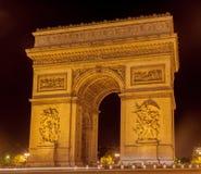 Arch of Triumph Paris Royalty Free Stock Image