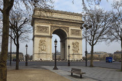 Arch of Triumph, Paris, France. Arc de Triomphe - Arch of Triumph, Paris, France Stock Photos