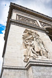 Arch the Triumph, Paris, France. Royalty Free Stock Images