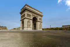 Arch of Triumph . Paris, France. Arch of Triumph on the Charles De Gaulle square. Paris, France Royalty Free Stock Images