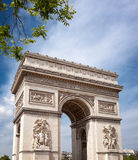 Arch of Triumph Paris Royalty Free Stock Photography