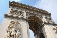 Arch of Triumph in Paris Stock Photos