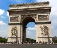 Arch of Triumph, Paris Stock Image