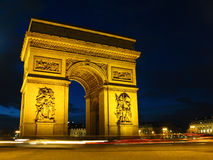 Arch of Triumph, Paris, France royalty free stock photo