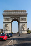 Arch of Triumph, Paris, France Royalty Free Stock Image