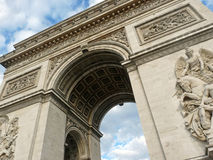 Arch of Triumph, Paris. FRANCE. Beautiful pic of Arch of Triumph, Paris. FRANCE Royalty Free Stock Images