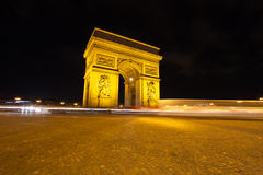 Arch of Triumph, Paris, France Stock Photos