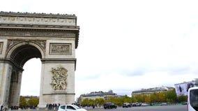 Arch of Triumph stock video