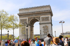 Arch of Triumph, Paris Stock Photo