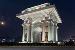 Arch of Triumph, Pyongyang, North Korea Stock Photography