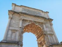 Arch of triumph Stock Image