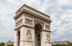 Arch of Triumph of the Star Royalty Free Stock Photos
