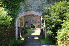 Arch tunnel Stock Image