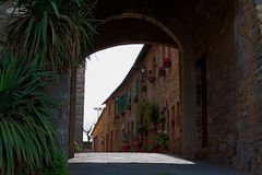 Arch in Tuscany royalty free stock image