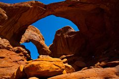 Arch in USA Royalty Free Stock Photos