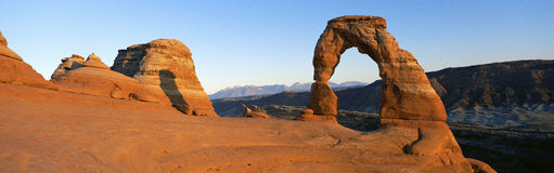 Arch in Utah Royalty Free Stock Photography