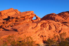 Arch at the Valley of Fire Stock Photography
