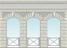 Arch vector 3. Stock Image