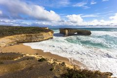 The Arch Victoria, Australia Great Ocean Road and surroundings sea oceans and cliff. Australasia Royalty Free Stock Photography