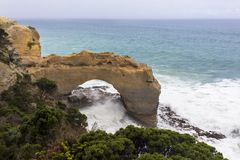 The Arch Victoria, Australia Great Ocean Road and surroundings sea oceans and cliff. Australasia Stock Photo