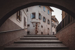 Arch view. Royalty Free Stock Photos