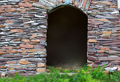 Arch in the wall Stock Images