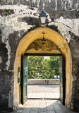 The arch in the wall Royalty Free Stock Photography