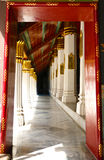 Arch of Wat Pha Keaw (Temple) Stock Images