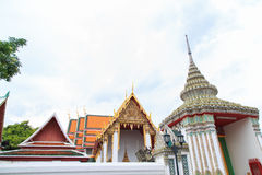 Arch of Wat Pho Stock Photo