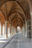 Arch way in ancient palace. Stock Photo