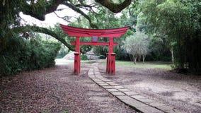 Arch way to Buddha Royalty Free Stock Image
