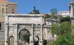 Arch of win at the Palatine Royalty Free Stock Photos