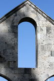 Arch window Royalty Free Stock Image