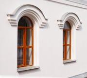 Arch windows Royalty Free Stock Photo