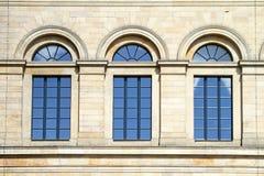 Arch windows Royalty Free Stock Photos