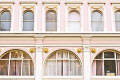 Arch windows Stock Photo